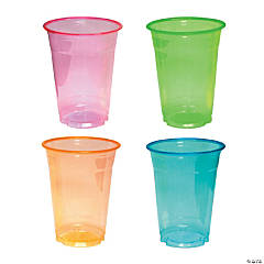Large Neon Cups