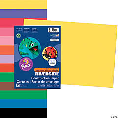 Large Pacon® Riverside® Construction Paper -