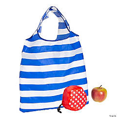 Large Patriotic Foldable Tote Bags