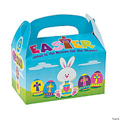 Large Religious Bunny Favor Boxes