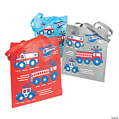 Large Rescue Heroes Tote Bags