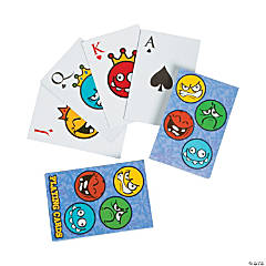 Large Silly Face Playing Cards PDQ