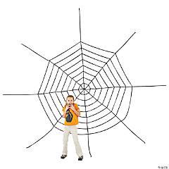 Large Spider Web Halloween Décor