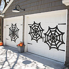 Large Spider Web Halloween Decorations