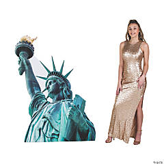 Large Statue of Liberty Stand-Up