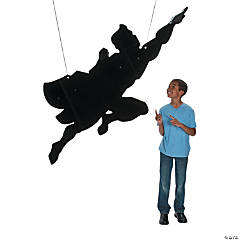 Large Superhero Silhouette Hanging Decoration