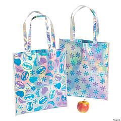 Large Winter Princess Tote Bags