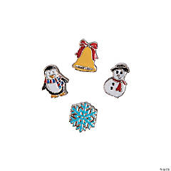 Large Winter Slide Charms