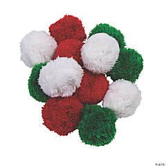 Large Yarn Pom-Poms