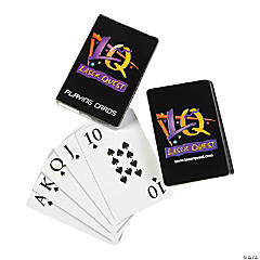 Laser Tag Party Playing Cards