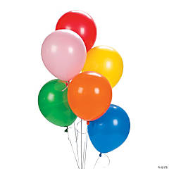 Latex Assorted Color Balloons