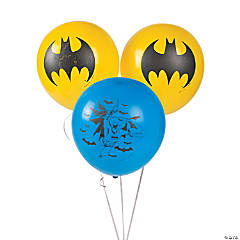 Latex Batman Balloons
