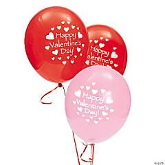 Latex Happy Valentine's Day Balloons