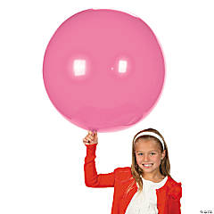 Latex Jumbo Pearl Pink Balloons
