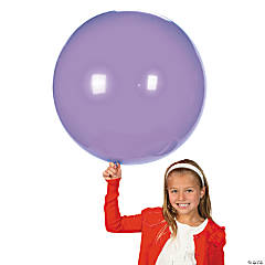 Latex Jumbo Spring Lilac Purple Balloons