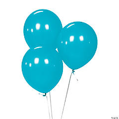 Latex Light Blue Balloons