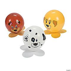 Latex Puppy Party Balloon Kit