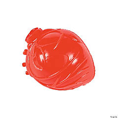 Latex Realistic Heart Splat Toys PDQ