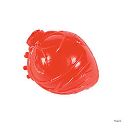 Latex Realistic Heart Splat Toys