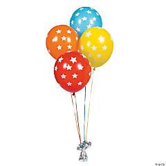 Latex Star Print Balloons