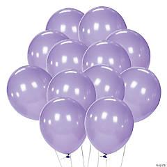 "Lavender 11"" Latex Balloons"