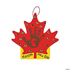 Leaf Handprint Door Hanger Craft Kit
