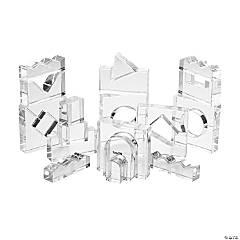 Learning Advantage Crystal Acrylic Block Set - Set of 25
