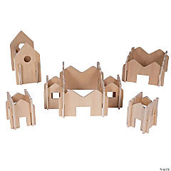 Learning Advantage Happy Architect - Natural - Set of 28