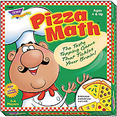 Learning Math Pizza Game