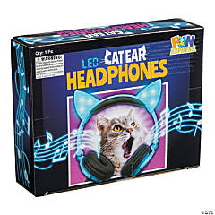 LED Cat Ear Headphones