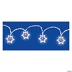 LED Star of David String Lights