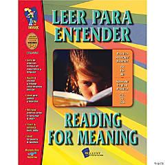 Leer para Entender/Reading for Meaning, Grades 1-3
