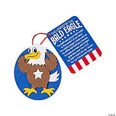 Legend of the Bald Eagle Ornament Craft Kit