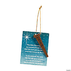 Kn Memorial Dog Ornament for Christmas Home Decor Ornaments 1 Piece Oriental Trading Company 95//3127 Fun Express Christmas Family