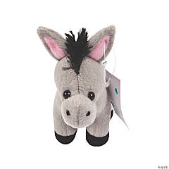 Legend of the Christmas Stuffed Donkey with Card - 12 Pc.
