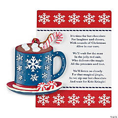 Legend of the Hot Chocolate Christmas Ornaments with Card