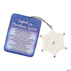 Legend of the Spider Ceramic Ornaments with Card