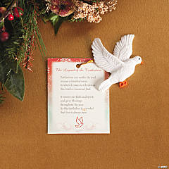 Legend of the Turtle Dove Ornaments with Card
