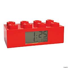 Lego® Red Brick Alarm Clock