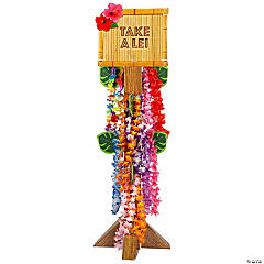 Lei Station with Leis