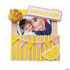 Lemonade Stand Picture Frame Magnet Craft Kit
