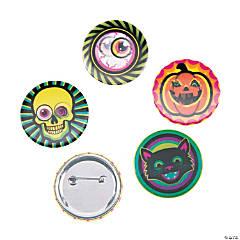 Lenticular Spookadelic Mini Buttons