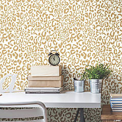 Leopard Peel & Stick Wallpaper