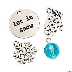 Let it Snow Charm Assortment