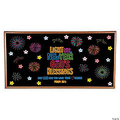 Let Your Light Shine in the New Year Bulletin Board Set