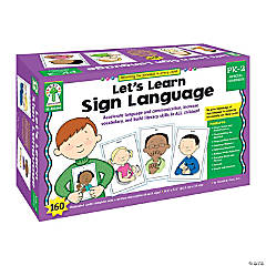 Let's Learn Sign Language Learning Cards