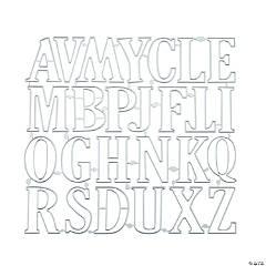 Letter Cutting Dies