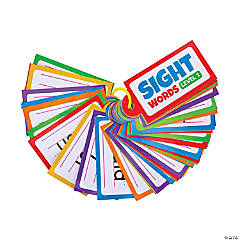 Level 1 Sight Word Cards on a Ring