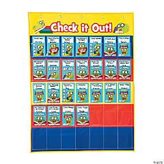 Library Checkout Pocket Chart