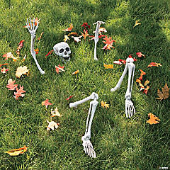 Life-Size Skeleton Yard Halloween Decoration
